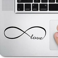 Infinity Love for Trackpad Keypad Ipad Macbook Car Window Decal Sticker Laptop