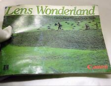 Canon Fd Lens Wonderland Accessory Guide English 46 pages English En 1971