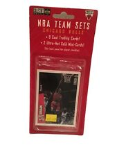 New Sealed 1997 NBA Chicago Bulls Cards Team Set Upper Deck