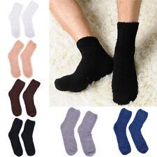 Men Women Extremely Cozy Cashmere Socks Winter Warm Sleep Bed Floor Home Fluf EB