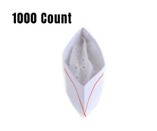 Chef Hat's - 1000 Count Disposable White Paper Chef Hat