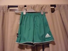 GREEN ADIDAS SHORTS - SIZE XXS - NEW WITH TAGS - RRP £14.99