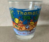 "St. Thomas U.S. Virgin Islands Anchors 2.25"" Collectible Shot Glass"