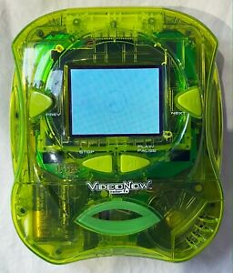 Video Now Color FX 75087 Neon Transparent Green Personal Video Player