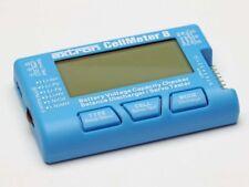Extron Lipo Kapazität Tester, Akku Tester NiMh,LiFe,LIHV, LCD-Display beleuchtet