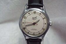 (11) Gents Vintage Ogival Fisk Military Style 17j Incabloc Swiss Wrist Watch