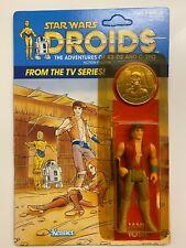 STAR WARS DROIDS JANN TOSH 12 Back Vintage Kenner 1985 Sealed MOC Unpunched