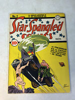 STAR SPANGLED COMICS #2 DR WEERD, TARANTULA, CAPTAIN X, 1941, SIEGEL, DC