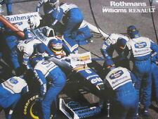 Rothmans Williams Renault FW18 1996 #6 Jacques Villeneuve (CAN) Pitstop