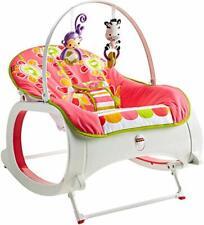 Baby Rocker Infant To Toddler Rocking Newborn Crib Swing Seat Chair Girls Funny