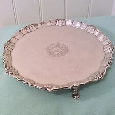 Antique Silver salver George II Robert Abercromby 1744
