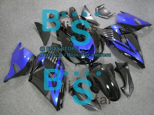 Black Fairings Kit Kawasaki Ninja ZX14R ZX-14R 07 08 09 10 2006-2011 5 A7