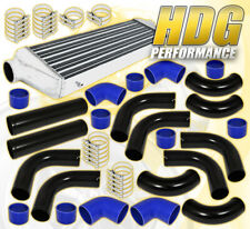 "12Pcs 2.5"" Diy Piping Kit + Turbo Fmic Front Mount Intercooler +Silicone Coupler"
