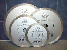 "180mm ( 7"" inch ) Diamond segment continuous rim saw blade cutting disc wheel"