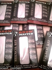 W7 Brow Master 4 Precise Shaped Arches Stencil Kit