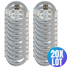 20X 3/6FT a granel al por mayor para carga Cargador Apple iPhone L Cable De Datos Cable Lote