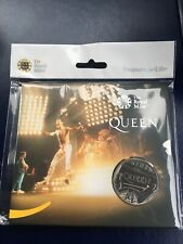 Queen Freddie Mercury Limted Edition £5 Coin