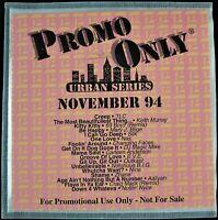 "PROMO ONLY ""URBAN SERIES NOVEMBER 1994"" DJ PROMO CD COMPILATION TLC, NAS *NEW*"