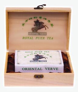 Expensive Chinese Puer Tea * ROYAL PUER TEA * oriental verve puer tea