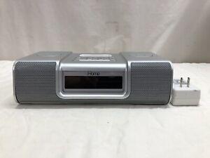 IHOME IP9 SILVER iPOD SPEAKER DOCK - FS