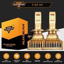 AUXBEAM GT Series H7 LED Headlight Bulb High Low Beam 6000K White Car Fog Lamp