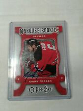 2008-09 O-PEE-CHEE Auto. Buy Back Mark Fraser # BB-MF