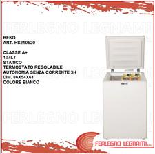 Beko Congelatore orizzontale Hs2 10520 Classe energetica a Bianco Hs210520 - GA