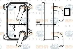 Mahle 8MO 376 726-131 ENGINE OIL COOLER FITS VOLVO S40 / V40 WHOLESALE PRICE