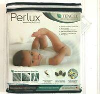 27x27 Size Babydoll Bedding Saddle Style Waterproof Crib Mattress Protector White