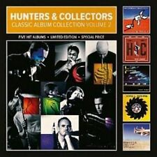 HUNTERS & COLLECTORS Vol 2 5CD NEW Jaws Of Life/Human Frailty/Ghost Nation/Cut