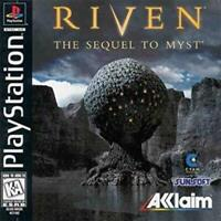 Riven the Sequel To Myst Playstation Game PS1 Used Complete