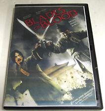Blades of Blood (DVD, 2011) Ex Rental