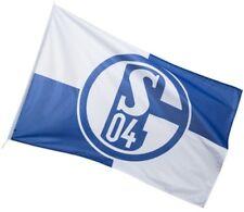 Hissflagge Fahne FC Schalke 04 Karo Flagge - 150 x 250 cm
