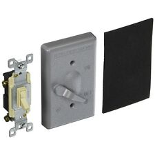 Hubbell-Bell 5141-0 Single Gang Weatherproof Switch Cover