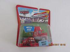 Disney Pixar Cars 2 MACK SEMI TRUCK MEGA SIZE WHITE RED Hot CB-T-GE