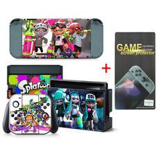Splatoon Vinyl Aufkleber Skin fur Nintendo Switch wtih displayschutzfolie