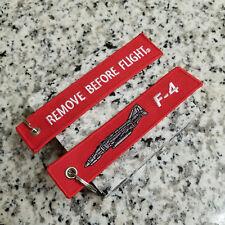 F-4 Phantom II Remove Before Flight ® Keychain, Tag, Streamer!