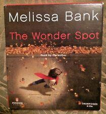 "AUDIO BOOK ~ ""The Wonder Spot"" by Melissa Bank (2005, CD)"