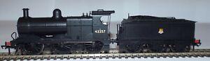 BACHMANN 31-626A CLASS 3F 0-6-0 LOCOMOTIVE 43257 BR BLACK