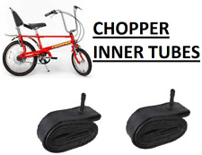 "INNER TUBES for a Raleigh Chopper Bicycle bike 20"" & 16"" innertubes"