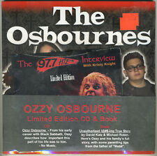 Ozzy Osbourne - Limited Edition Book & Interview CD - Rare Mint Sealed - Sabbath
