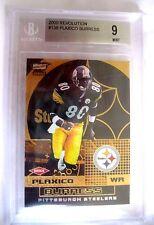 Plaxico Burruss RC 2000 Revolution Rookie#034/200 MINT Graded BGS9-Steelers RC