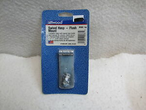 Attwood Swivel Hasp Flush Mount 2013A3