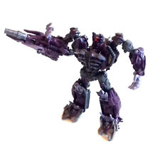 "Transformers Voyager Mech tech SHOCKWAVE Decepticon to 8"" robot figure RARE"