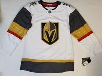Adidas NHL Las Vegas Golden Knights Jersey Authentic Away White CR4366 Size 52
