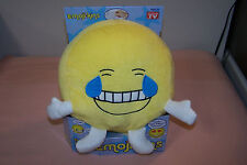 Emojikins Laughster Pillow NEW in Box Item #EJ3300 They Talk to You & Each Other