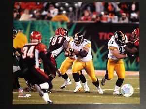 JEROME BETTIS  2005 PLAYOFF WILDCARD GAME 8X10 ACTION PHOTO Pittsburgh Steelers