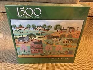 Bits And Pieces The Ice Cream Man Puzzle 1500 Pieces Artwork Joanne Case Sealed.