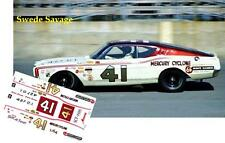 CD_2595 #41 Swede Savage  1968 Mercury Cyclone  1:64 Scale Decals