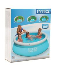 Intex 6' X 20' (183 cm X 51 cm) de Piscina Easy Set + Regalo Gratis Pelota De Playa